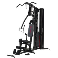 Marcy Eclipse Deluxe Home Gym - Black/Red