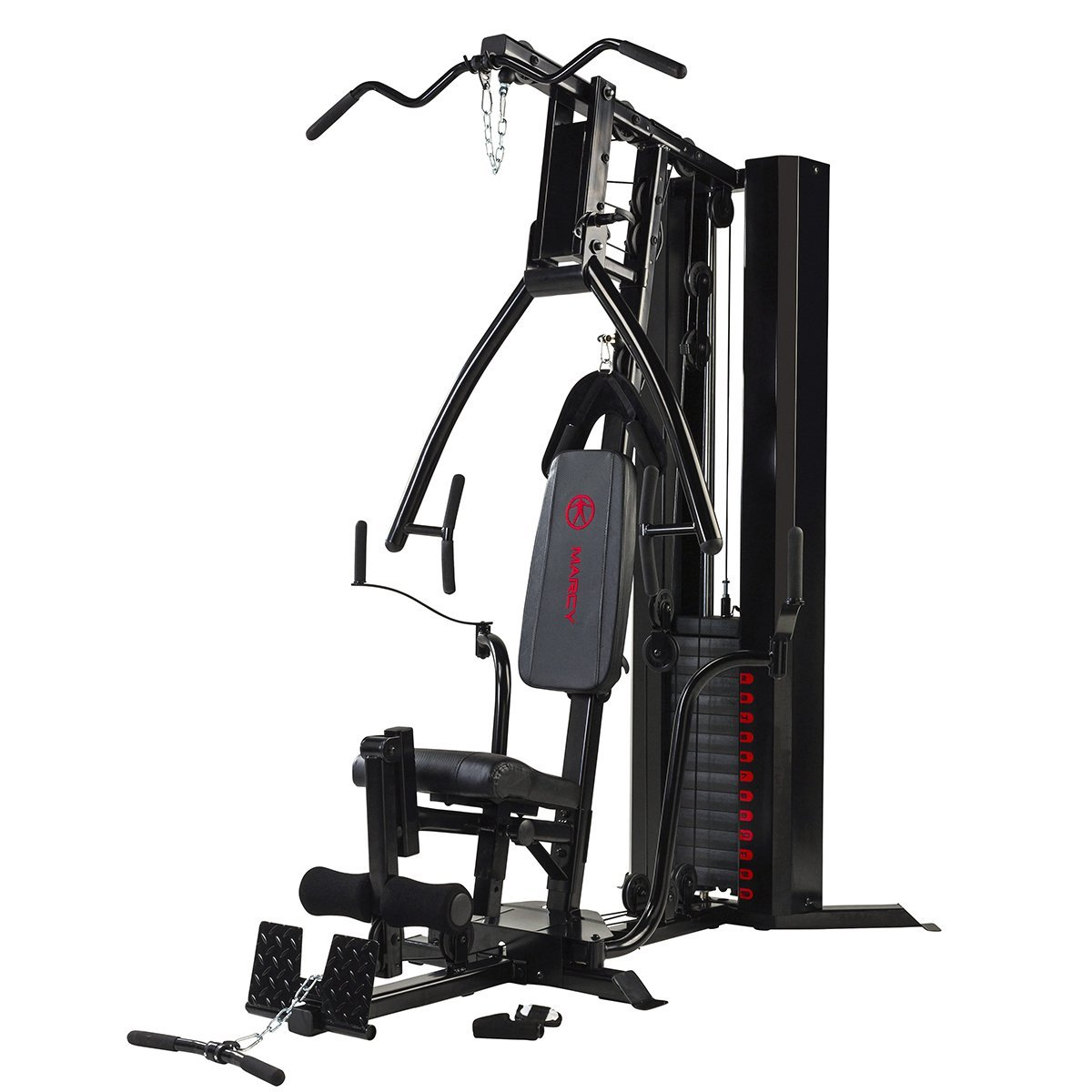 Marcy Eclipse Deluxe Home Gym - Black/Red Review